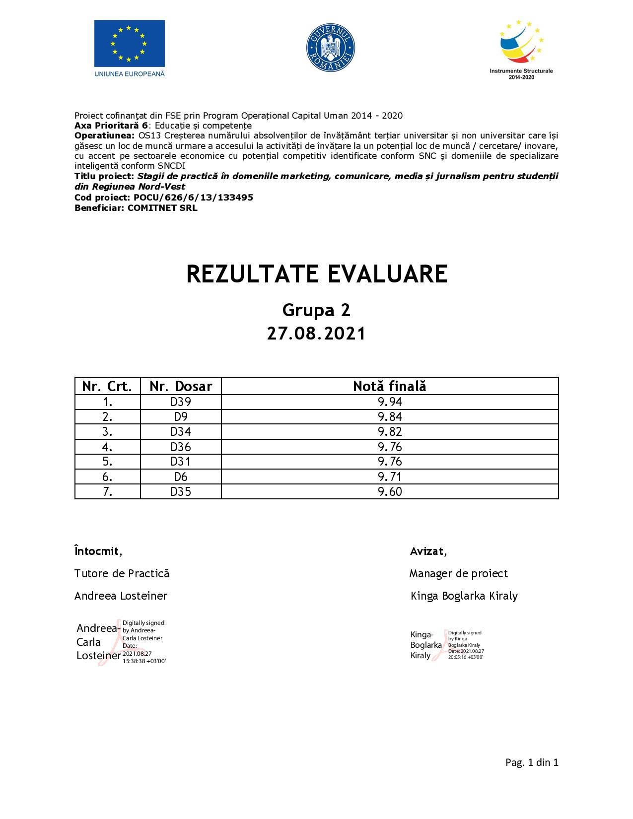 [Stagii de Practică SEO 365] Rezultate evaluare - Gr. II-page-001