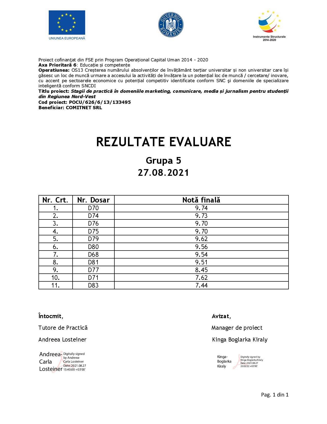 [Stagii de Practică SEO 365] Rezultate evaluare - Gr. V-page-001