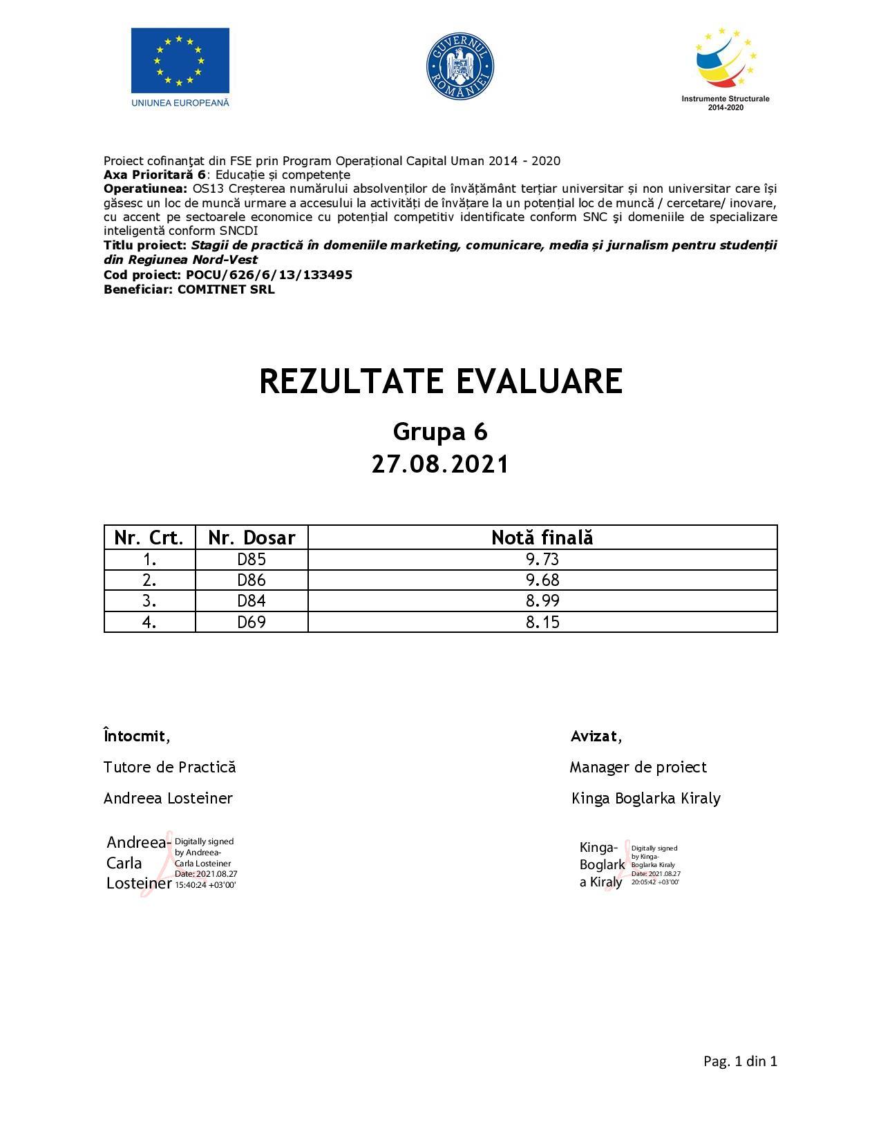 [Stagii de Practică SEO 365] Rezultate evaluare - Gr. VI-page-001