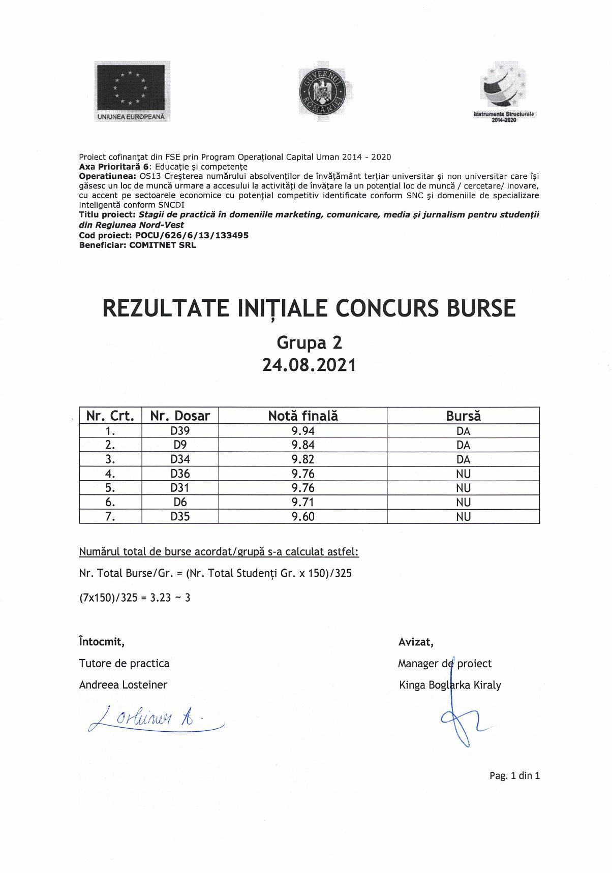 Rezultate initiale burse - gr. 2-page-001