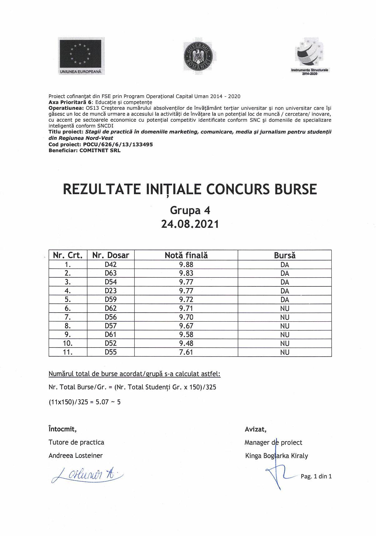 Rezultate initiale burse - gr. 4-page-001