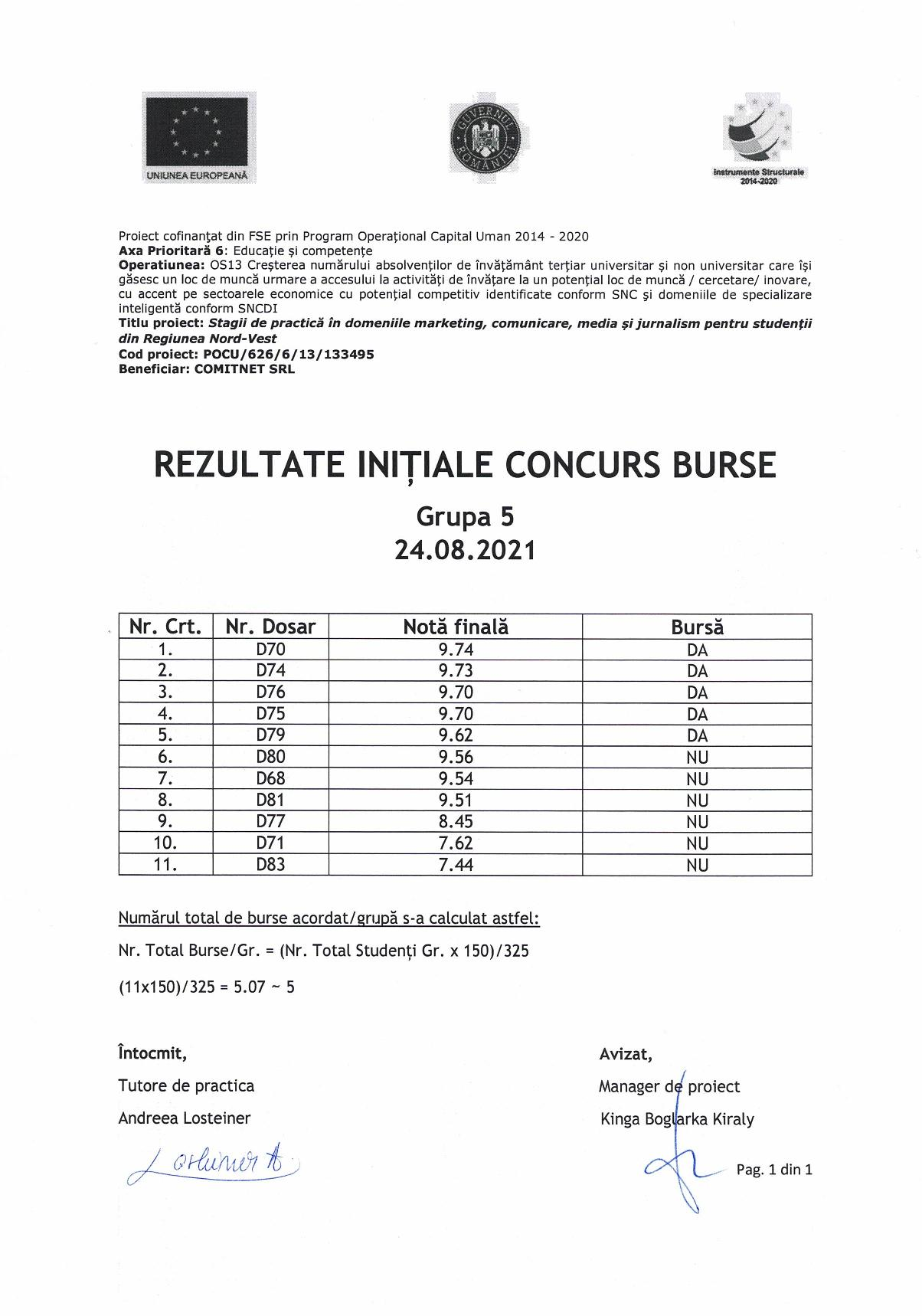 Rezultate initiale burse - gr. 5-page-001
