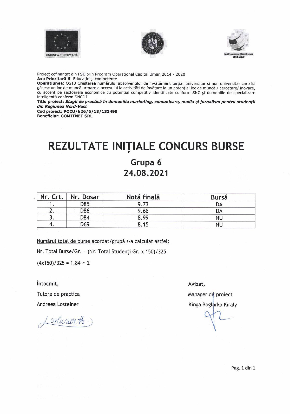 Rezultate initiale burse - gr. 6-page-001